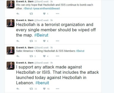 Beirut is a predominately Shiite community. The Hebollah political party controls security in the area.